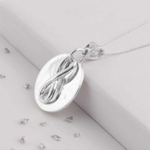 Love Knot Memorial Pendant