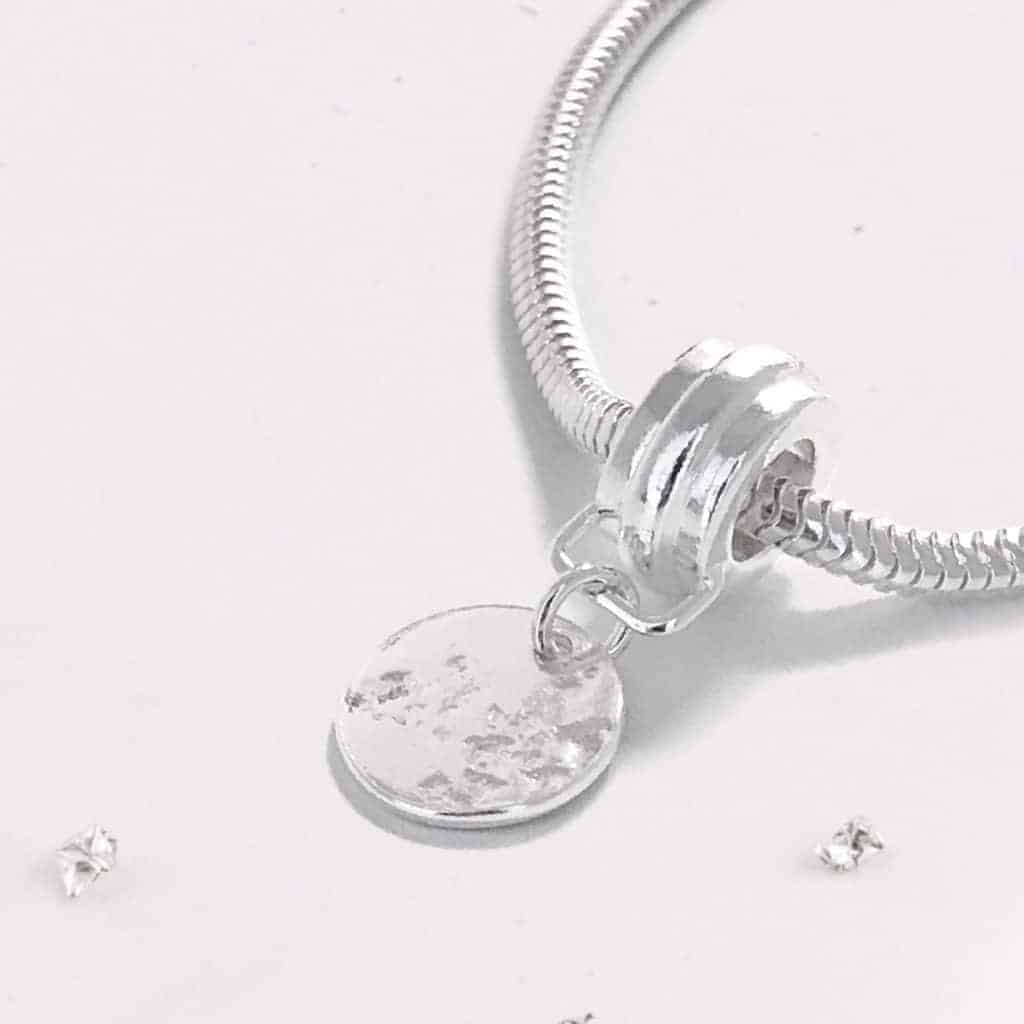 Sterling Silver Imprinted Charm