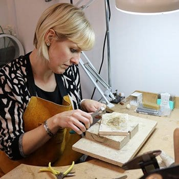 Julia Creating Jewellery