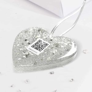 Interactive Photo & Video Memory Ashes Or Hair Star Tree Decoration